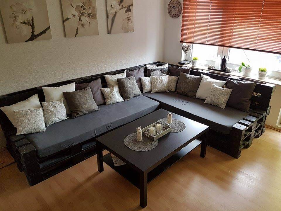 paletten sofa fertig kaufen. Black Bedroom Furniture Sets. Home Design Ideas